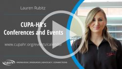 Conferences | CUPA-HR