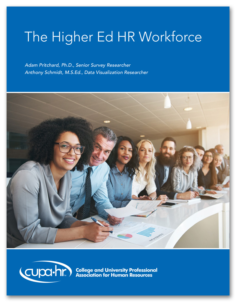 The Higher Ed Workforce Report Cover